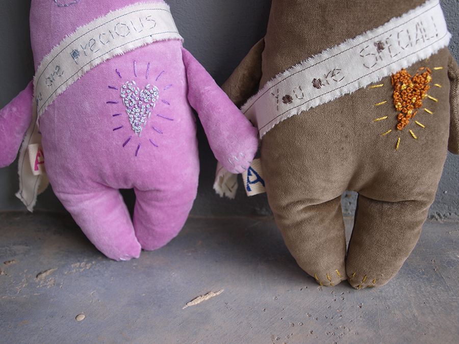 personal-toy-pink-velvet-bear-stuffed-animal-doll