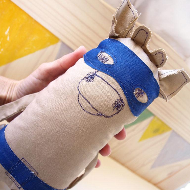 stuffed-animals-toy-super-hero-blue-mask-belt