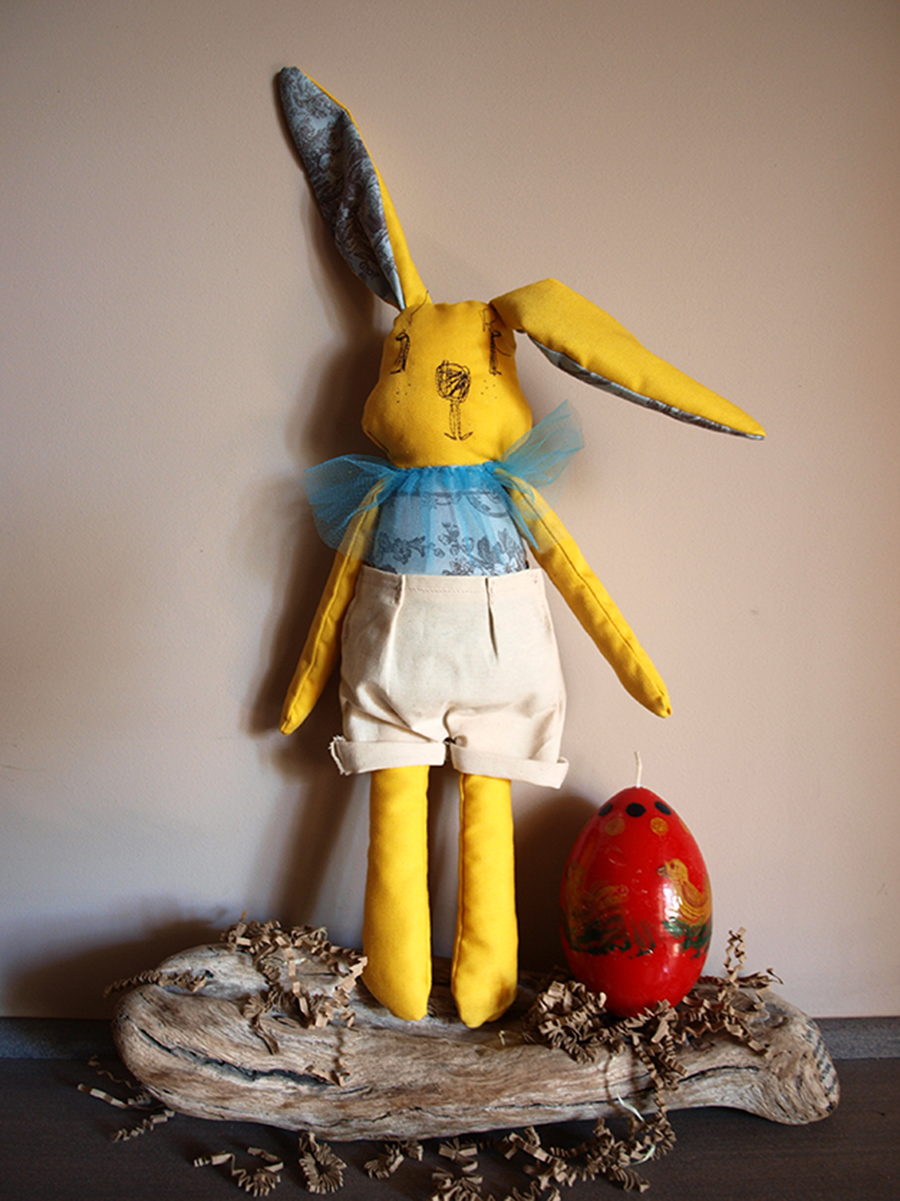 yellow-bunny-fabric-toy-kid-stuffed-animal-boy-gift