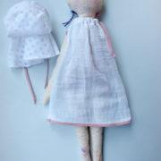 art-doll-girl-white-cotton-dress-polka-dot-cape