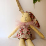 rabbit-bunny-spring-floral-cotton-fabric-pink-tulle